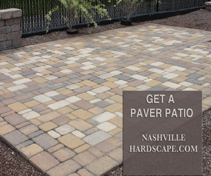 Nashville Paver Patio
