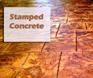 Nashville Stamped Concrete patio, nashville concrete patios