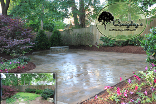 Nashville hardscapes where you get patios walkways and for Garden design nashville tn