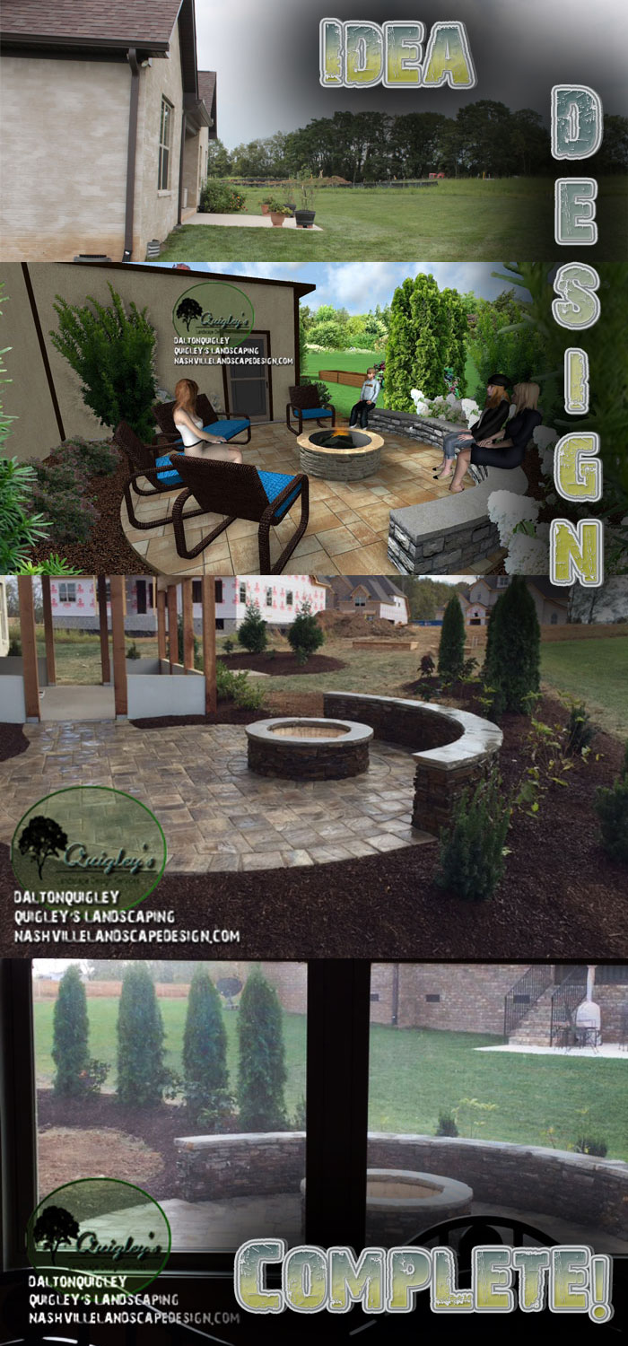 Nashville-Hardscapes, hardscape projects
