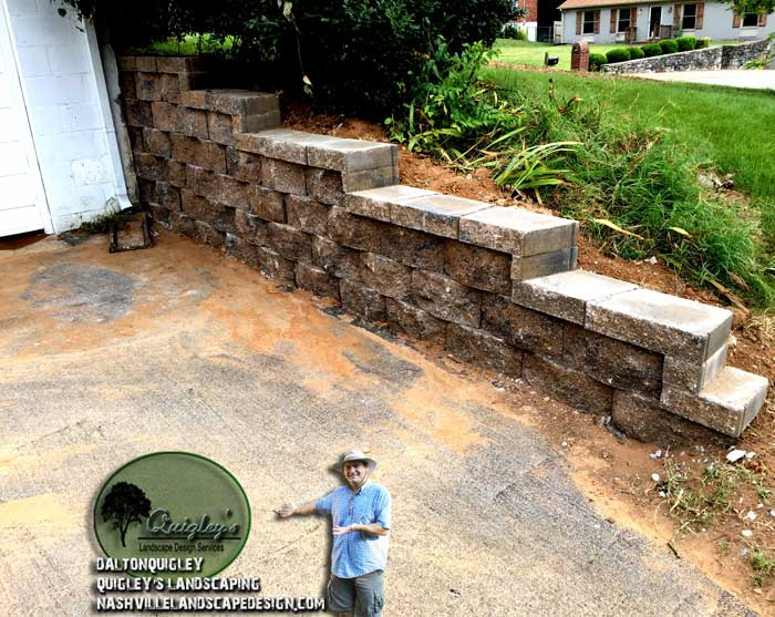 Nashville-Retaining-Walls, Brentwood retaining walls, Franklin retaining walls, Spring Hill Retaining walls.